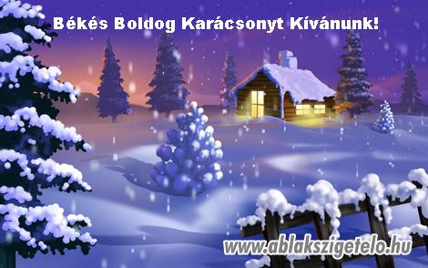Békés Boldog Karácsonyt Kívánunk!