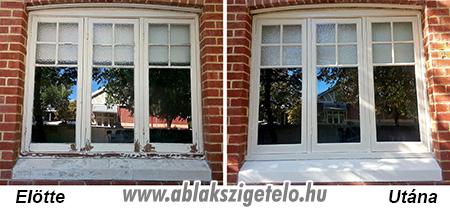 Fa ablakok védelme