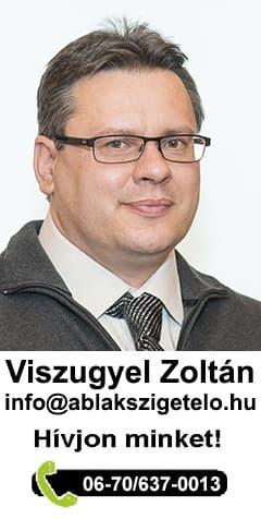 Viszugyel Zoltán ablakszigetelő