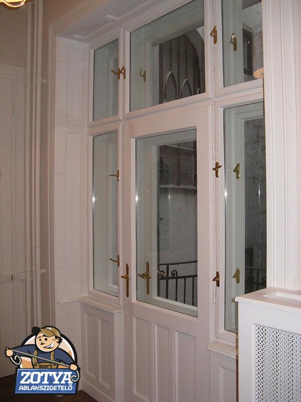 Történelmi ablakok felújítása