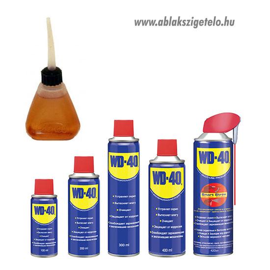 Műszerolaj és wd-40 spray