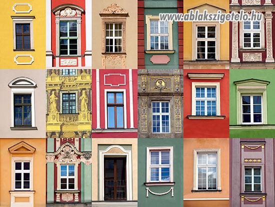 Ablakok fejlődéstörténete
